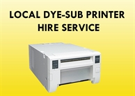 Dye Sub Event Printer Hire