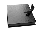 Luxury Faux Leather Slim Line Print Box