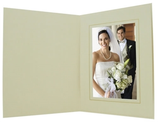 Topaz New Cream Premium Slip-in Folders